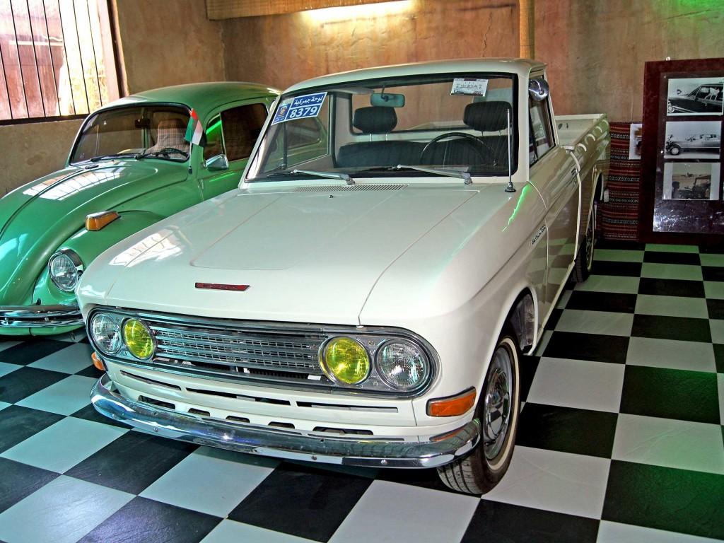 1967 Datsun 1300 - museum exhibit | 360CarMuseum.com