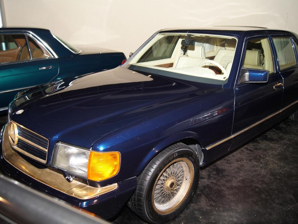 1983 Mercedes Benz 1001 Sel W126 Museum Exhibit