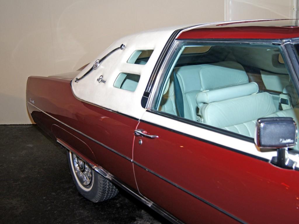 1974 Cadillac Eldorado El Deora Museum Exhibit 1961 Dorado Beginning In Marketed An Upper Trim Level Named After The French Coastal Resort Biarritz