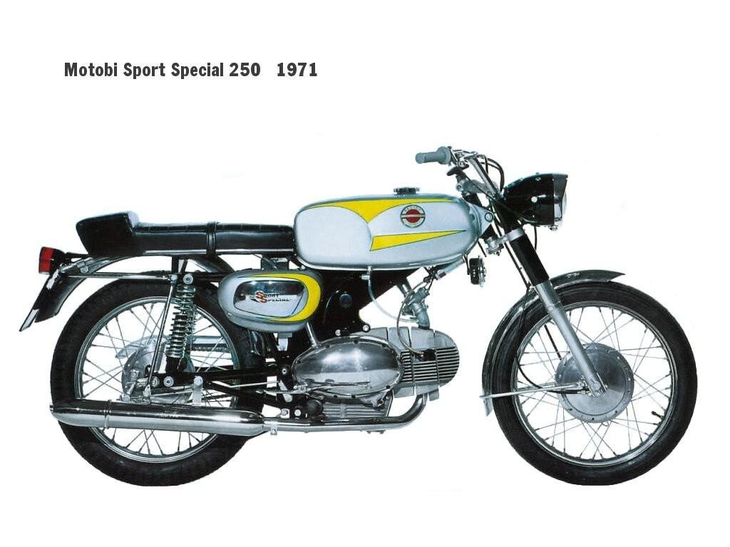 1970 Benelli Motobi 250 Sport Special
