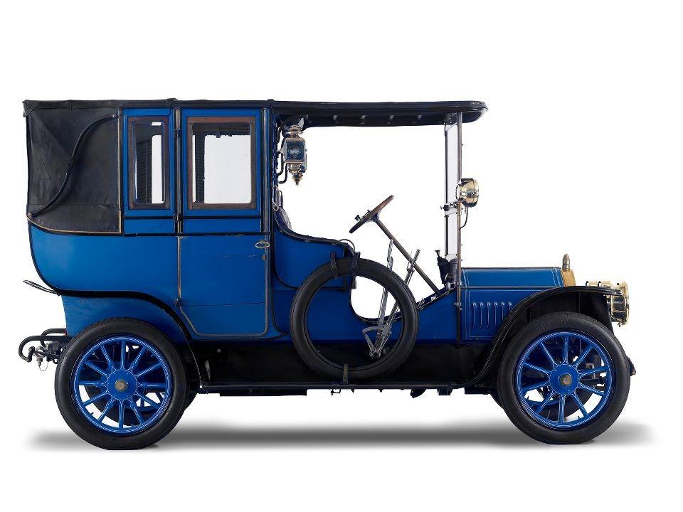 1910 Benz 10HP - museum exhibit   360CarMuseum.com