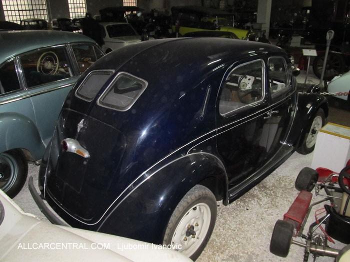 1939 Lancia Ardea - museum exhibit | 360CarMuseum.com