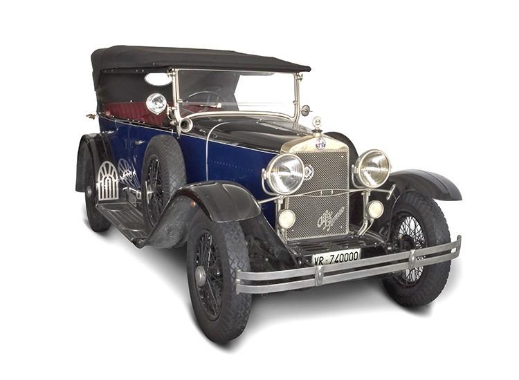 1923 Alfa Romeo Rl Normale Museum Exhibit 360carmuseum