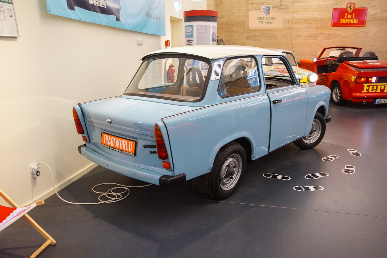 1964 trabant 601 museum exhibit. Black Bedroom Furniture Sets. Home Design Ideas