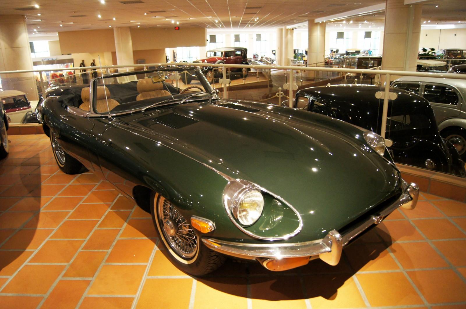 Jaguar Type E Cabriolet Museum Exhibit CarMuseumcom - Sports cars international