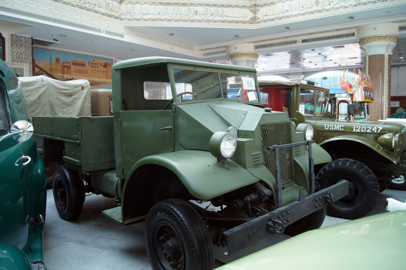 1939 Chevrolet C8A Museum Exhibit