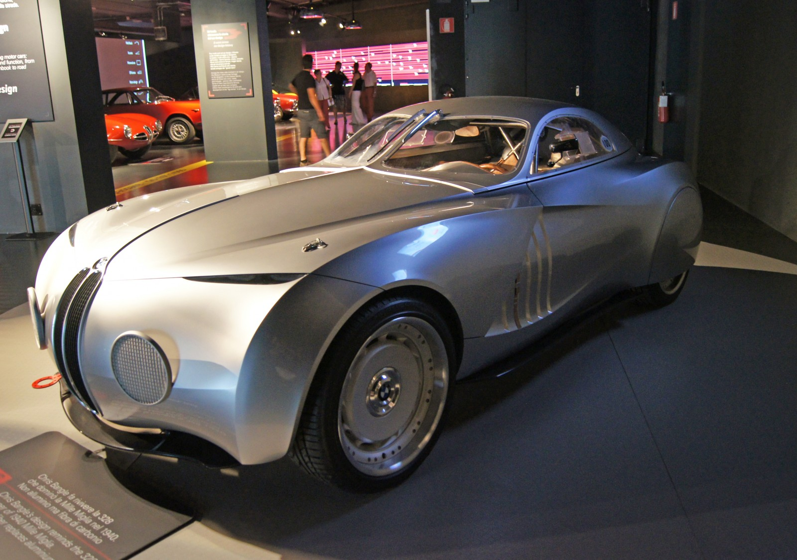 2009 BMW Mille Miglia Coupe Concept - Car Pictures