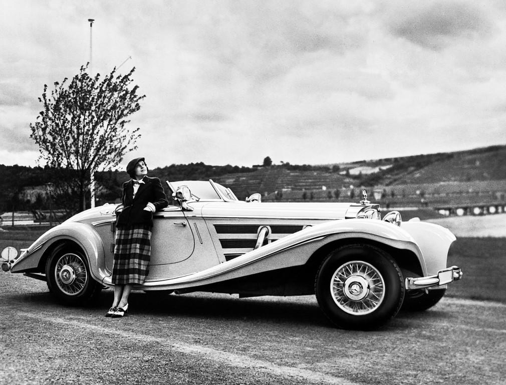 1936 Mercedes Benz 540k Special Roadster Museum Exhibit