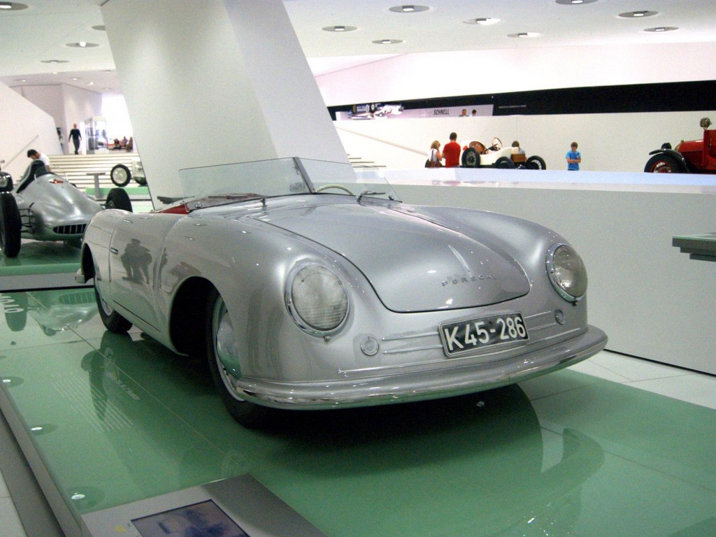 1948 porsche 356 no 1 roadster museum exhibit 360carmuseum from the very beginning the company uses racing porsche as a test platform for new vehicle types driven by herbert kaes porsche 356 no1 gained the class vanachro Choice Image